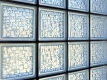 tegelstenexponeringsglas Arkivbilder