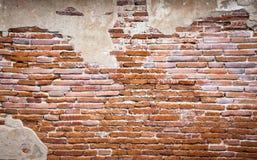 tegelstenfragmentvägg Fotografering för Bildbyråer