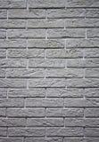 tegelstengrayvägg Royaltyfri Fotografi