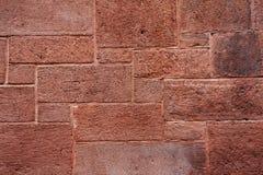 tegelstengrungevägg Fotografering för Bildbyråer