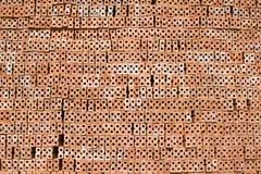 tegelstenkonstruktion Arkivfoton
