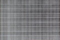 Tegelstenmodelltryck som testar svart f?rgpulver royaltyfri bild