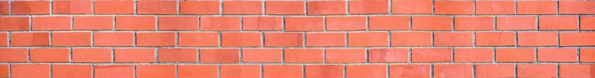tegelstenpanoramavägg Royaltyfri Bild