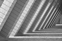 tegelstenpassageway Arkivbild
