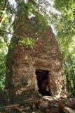 tegelstenskogtorn royaltyfria bilder