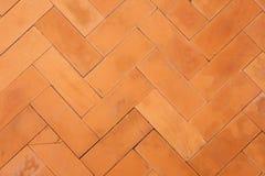 Tegelstentegelplattor, golvmodell Arkivfoton