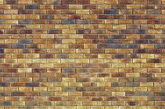 tegelstentexturvägg Royaltyfria Bilder