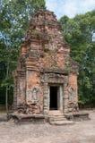 Tegelstentorn av Preah Ko Royaltyfri Foto