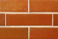 Tegelstenvägg. Arkivfoto