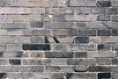 Tegelstenvägg Arkivbild