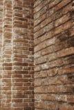 Tegelstenvägg royaltyfria bilder