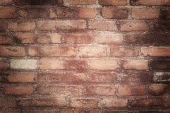 Tegelstenvägg arkivfoton