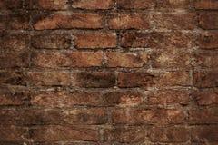 Tegelstenvägg royaltyfri foto