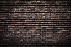 Tegelstenvägg arkivbilder