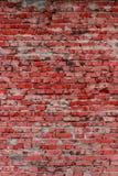 Tegelstenvägg (bakgrund och textur) Arkivfoton