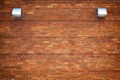 Tegelstenvägg med retro effektbakgrund för design Royaltyfria Foton