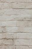 Tegelstenvägg, textur, bakgrund. Arkivfoton