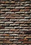 tegelstenväggar Arkivfoto