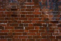Tegelstenväggar, gammal vägg, textur, bakgrund Royaltyfri Bild