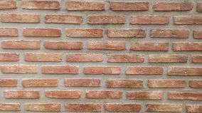 Tegelstenväggen texturerar Arkivbilder