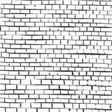 Tegelstenväggen texturerar. vektor illustrationer