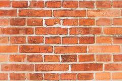 Tegelstenväggtextur Royaltyfri Fotografi
