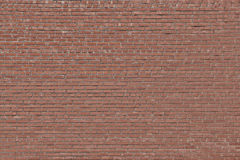Tegelstenväggtextur Arkivfoto