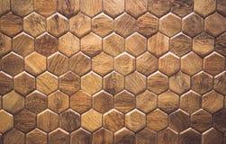 Tegelstextuur met elementen Materiële houten eik stock foto's