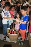 Tegen Nationaal Onderwijs in Hong Kong Royalty-vrije Stock Fotografie