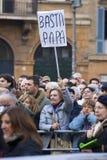Tegen Vatikaan royalty-vrije stock foto's