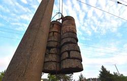Tegengewicht van beton royalty-vrije stock afbeelding