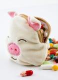 Tegengiffen van varkensvirus Royalty-vrije Stock Afbeelding