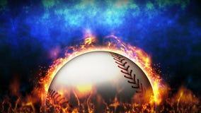 Tegenover strijdachtergrond Versus slagstrijd honkbal De animatie van de het conceptenlijn van de sportslag royalty-vrije illustratie