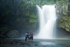 Tegenungan vattenfall Royaltyfri Foto