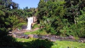 Tegenungan waterfall in Bali royalty free stock photos