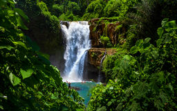 Tegenungan Waterfall Indonesia Bali Stock Images