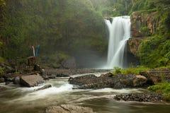 Tegenungan Waterfall Indonesia Bali Royalty Free Stock Image
