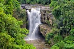 Tegenungan Waterfall Royalty Free Stock Photos