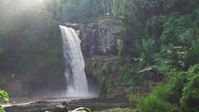 Tegenunganwaterval in Bali stock footage
