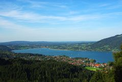 Lake Tegernsee Stock Image
