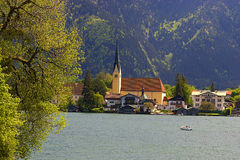Tegernsee in Bavaria Royalty Free Stock Images