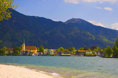 Tegernsee in Bavaria Royalty Free Stock Image