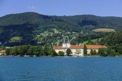 Tegernsee, Bavaria, Niemcy Obrazy Royalty Free