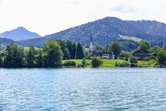 Tegernsee, Bavaria, Niemcy Obrazy Stock