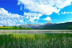 Tegernsee,Bayern,Germany. Beautiful view from Tegernsee,Bayern,Germany Royalty Free Stock Images