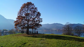 Tegernsee Hill Royalty Free Stock Photography