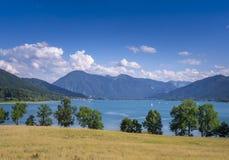 Tegernsee jezioro, Bavaria Obraz Royalty Free