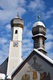 Tegernsee kościół Obrazy Royalty Free