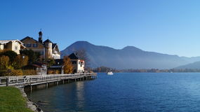 Tegernsee village Royalty Free Stock Photography