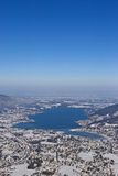 Tegernsee in winter Stock Photos